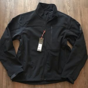 Tumi T-Tech Black Jacket Sz L NEW